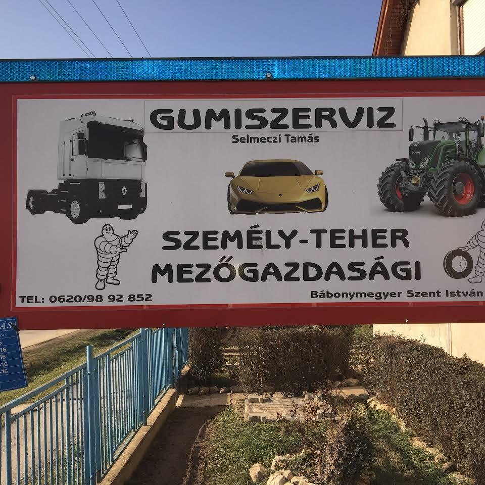 Gumiszerviz - Selmeczi Tamás